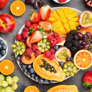 Bio Früchte aus Uganda, Mexiko, Peru und Spanien. Lieferung am 13.08